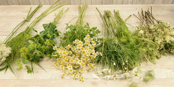 花束の作り方