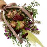 スワッグの作り方「超カッコいい花材達を使って」