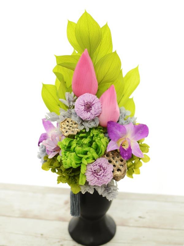 プリザーブドの仏花