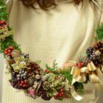 【2020】クリスマスレッスン:スワッグ&リース