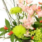 【お正月アレンジメント】華やかに新春を飾ります
